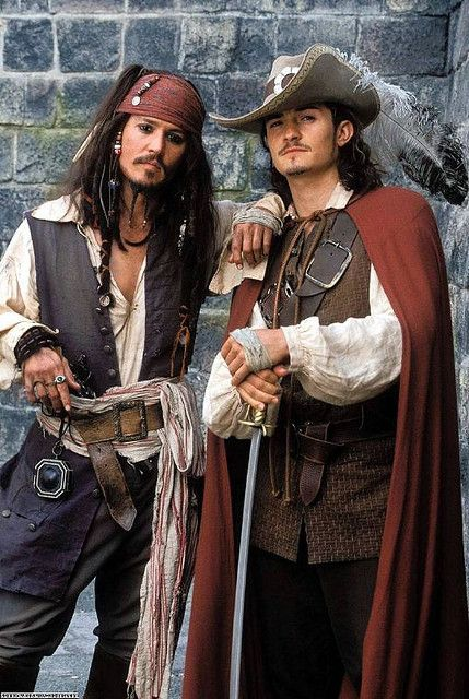 Pirates of the Caribbean BLooody Pirates!!!! lol Captain Jack!