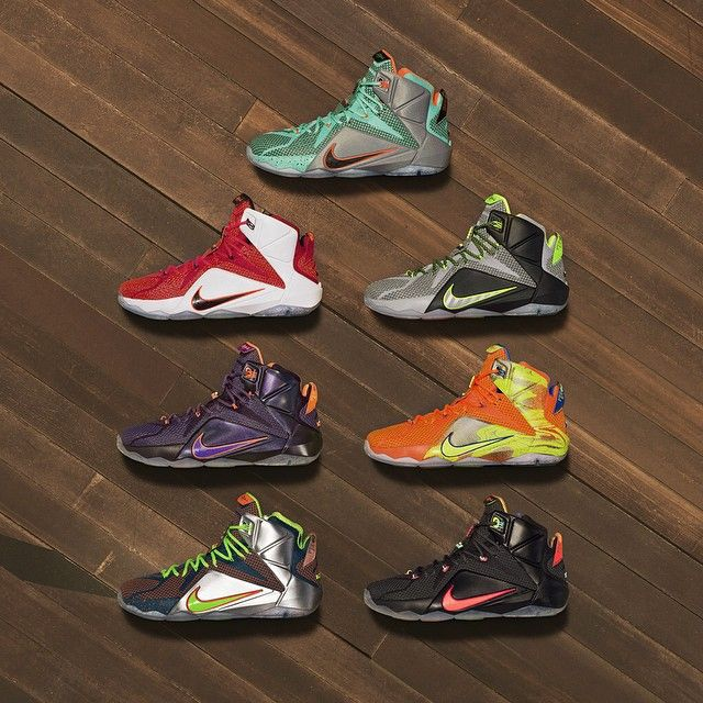 online store 5b321 0f78e Introducing the  LEBRON12. Power s newest protégé. LeBron 12 First Set of  Colorways Nike ...
