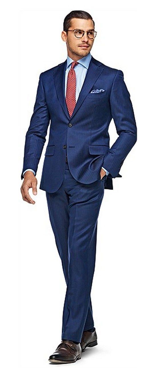 d57d86e4e Blue Stripe Sevilla Suit. Traje HombreModa Para ...