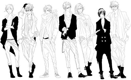 Amplt3 Boys Draw Fashion Illustration Favim Com 319540 Jpg 500 307 Anime People Drawings Concept Art Characters Drawing Reference