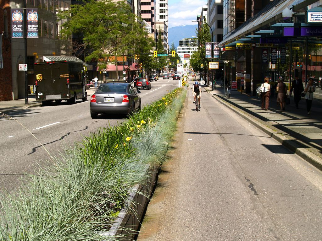 In Vancouver 50 Of Trips Are By Foot Bike Or Transit This