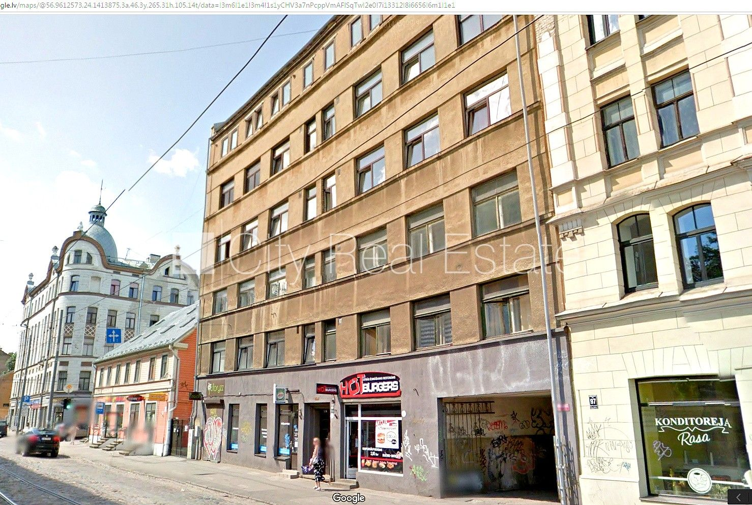Apartment for sale in Riga, Riga center, Krisjana Barona ...