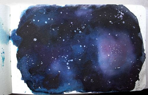 indrue:    fauxxe:    Galaxy (by foxsalt)    This is amazing. :>