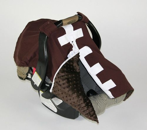 & Car Seat Canopy - Football | Car seat canopy Car seats and Canopy