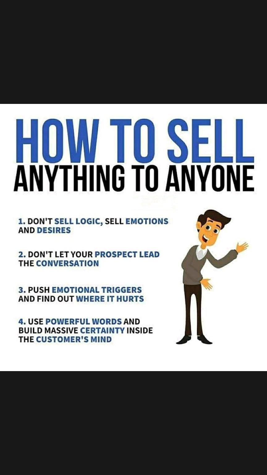 How to Sell to Anyone