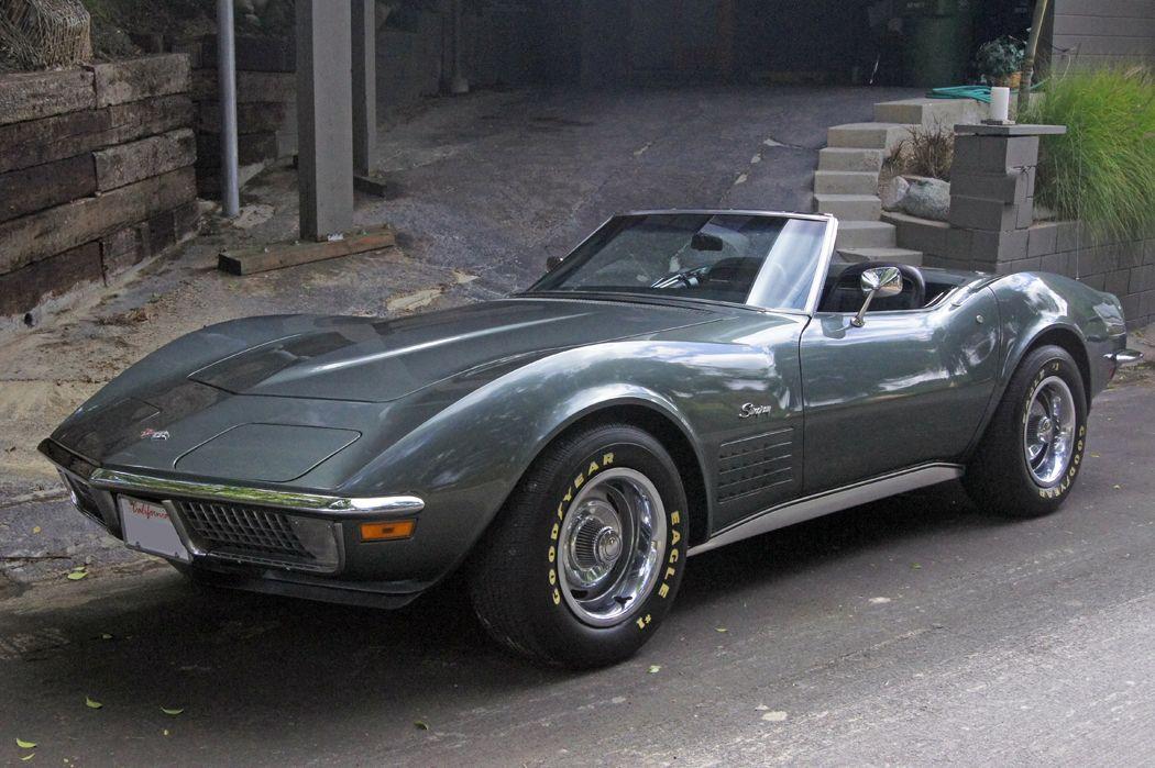 1970 Laguna Gray Corvette Corvette Chevrolet Corvette Classic