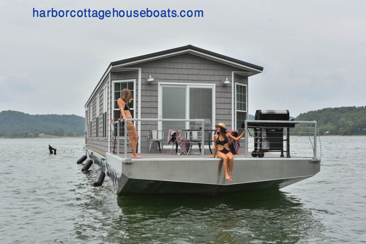 Check out the link below to see our harbor cottage houseboats