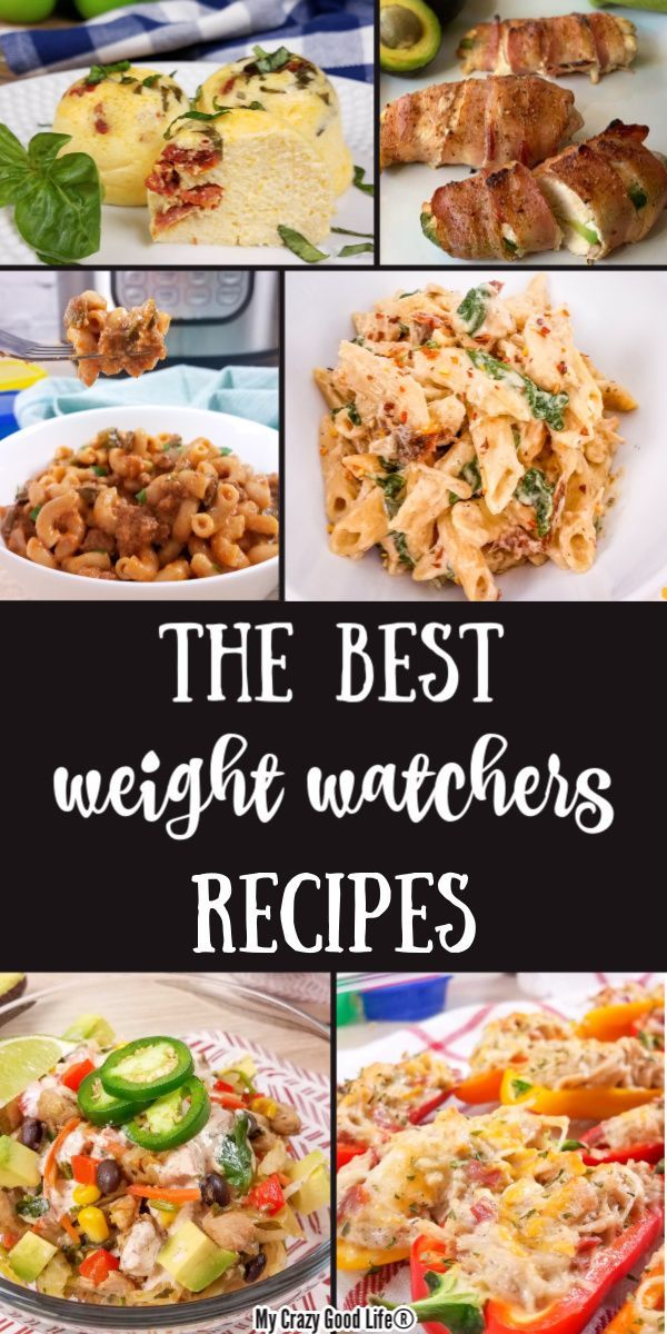The BEST Weight Watchers Recipes