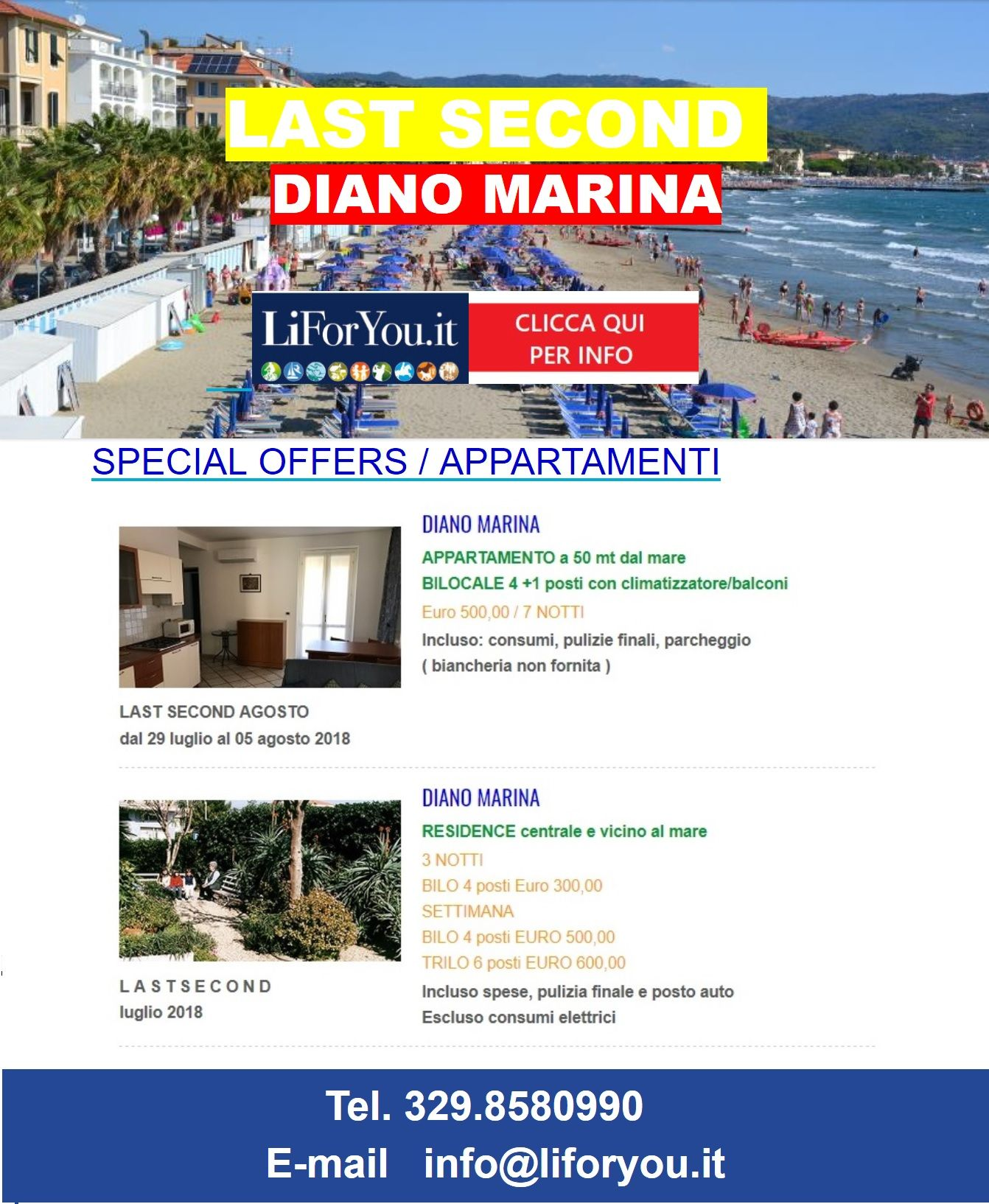 Apartment Offer Diano Marina Book Your Favorite Apartment