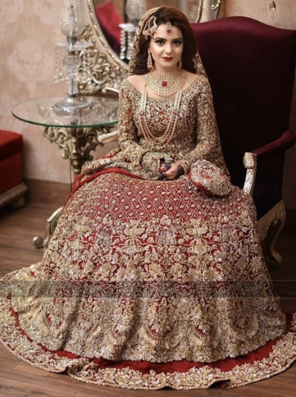 97a965b4ba Barat bride ( designer is republic women's wear) | Wedding in 2019 ...
