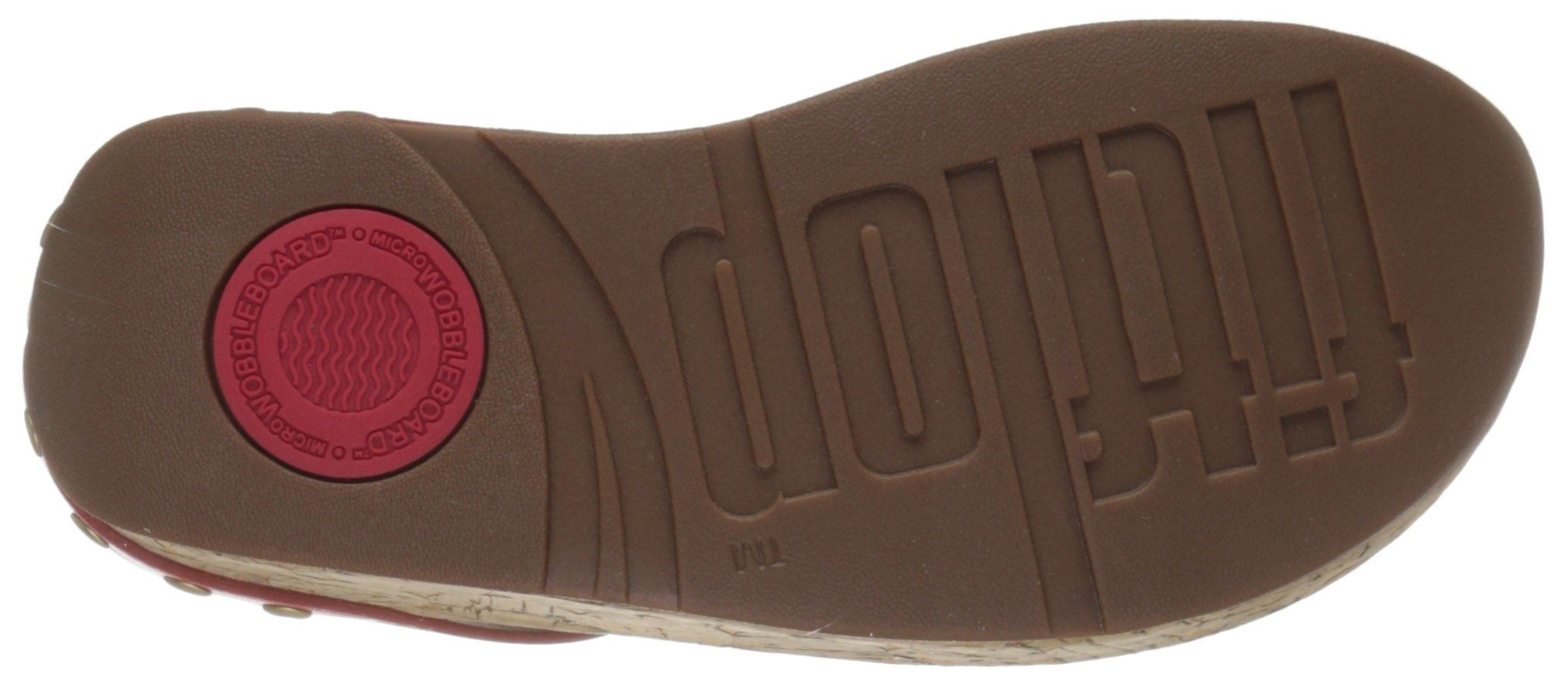 63c7cc6769c92d FitFlop Womens Ibiza Cork Leather ToeThong Sandals Flip Flop Flame 6 M US      Want additional info  Click on the image. (This is an affiliate link)