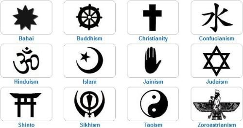 Image Result For Major Religious Symbols Of The World Religion