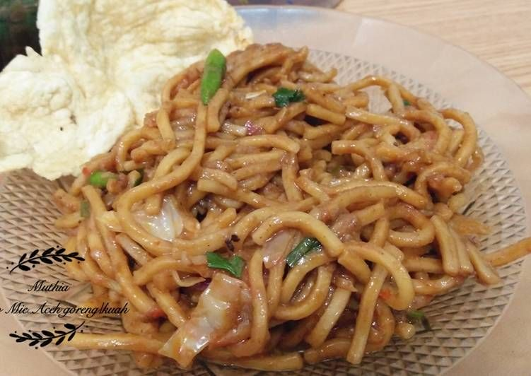 Resep Mie Aceh Goreng Kuah Oleh Muthia Saraswati Resep Resep Masakan Indonesia Resep Makanan Makanan