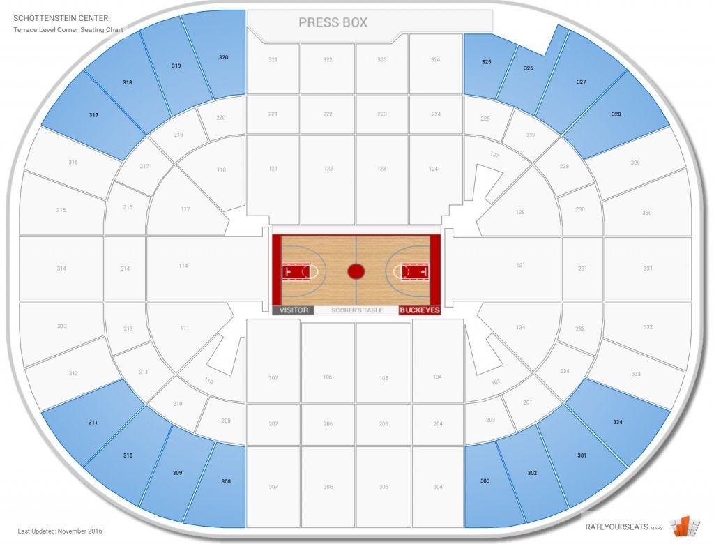 Schottenstein Center Seating Charts Chart Madison Square Garden