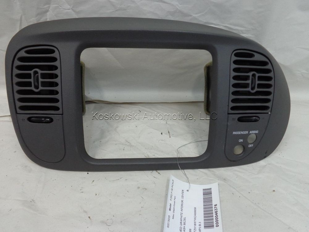 Details about FORD OEM 97-98 F-150 Instrument Panel Dash