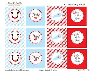 Mirabelle Creations: {FREE PRINTABLES} -- 138th Kentucky Derby Printables