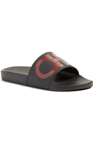 dba66321a Men S Groove 2 Original Double Gancini Slide Sandals