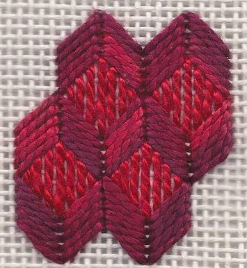 Rittenhouse Needlepoint: Stitch of the Week: Fancy