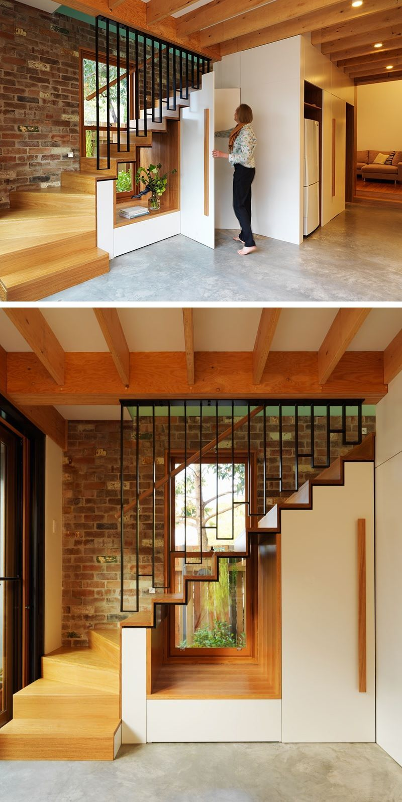 Staircase with window design – Home Decorating Trends – Homedit