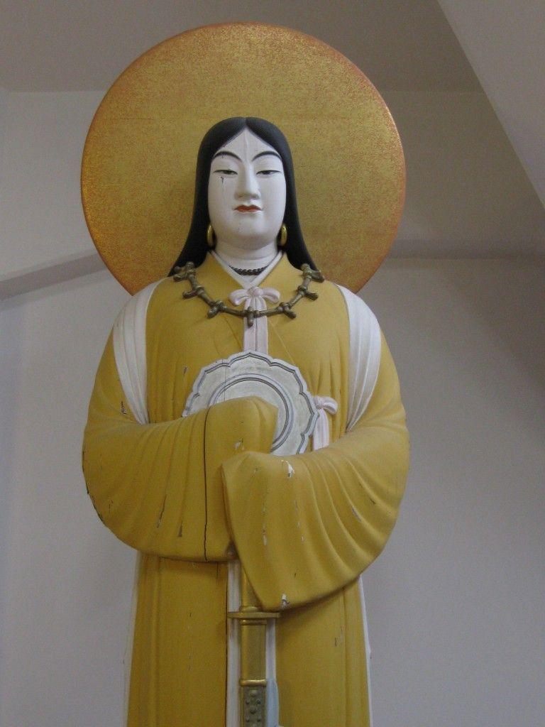 Amaterasu Sun Goddess And Primal Deity In The Shinto Pantheon