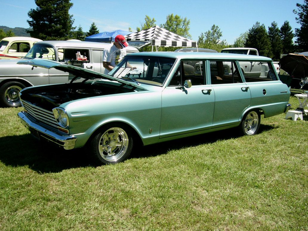 1963 Chevrolet Wagon 1963 Chevy Ii Nova Station Wagon By
