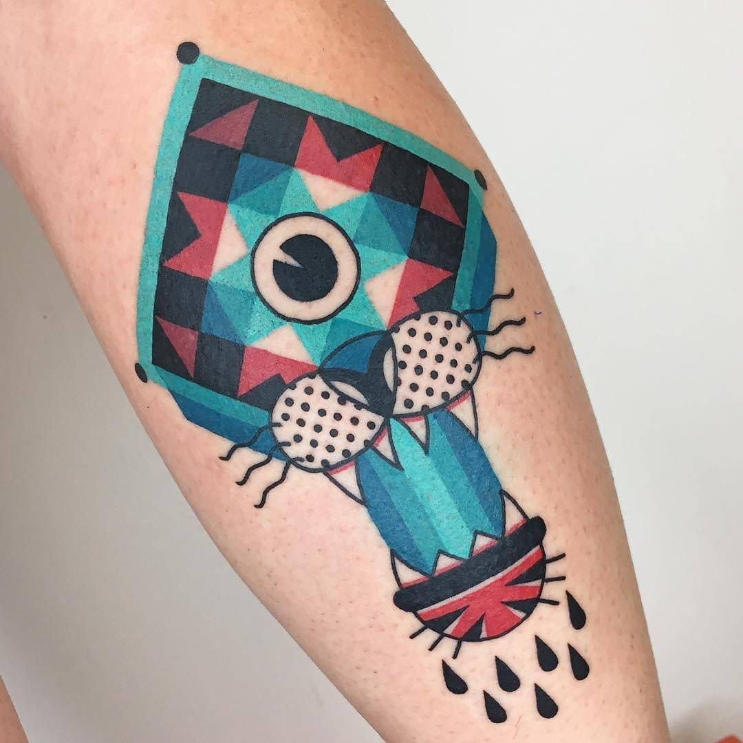 4,359 Likes, 15 Comments - TattooSnob (@tattoosnob) on Instagram ... : quilt square tattoo - Adamdwight.com