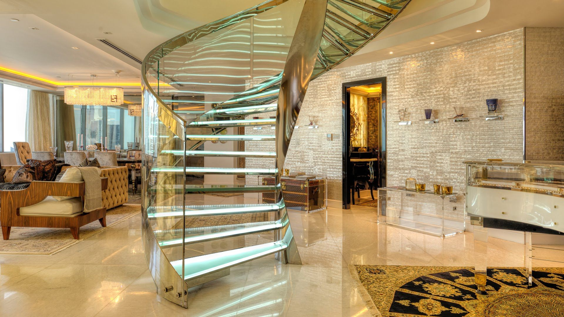 Dubai Luxury Property View From Inside Quot The Glass