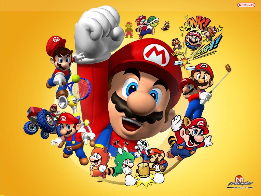 Go Go Go School Super Mario Mario Mario Bros