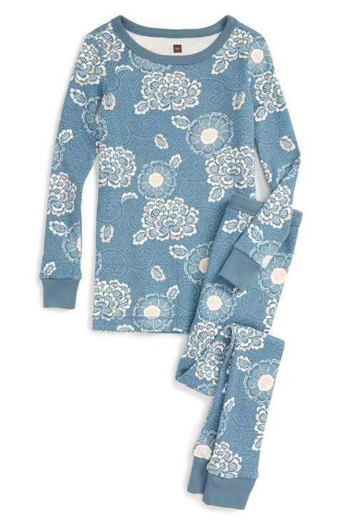 ab999db19abe Tea Collection  Saki  Fitted Two-Piece Pajamas (Toddler Girls ...