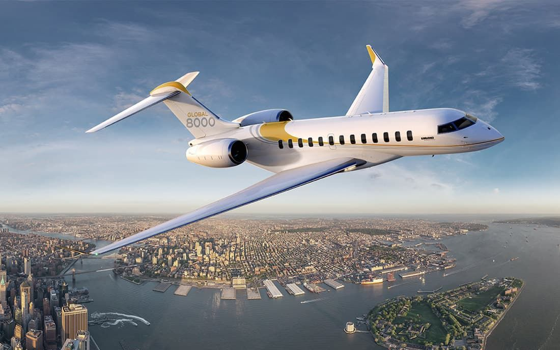 Bombardier Global 8000 – 71 Millions Euros businessaircraft ...