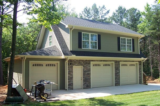 3 Car Garage with Full Apartment | GARAGE | Pinterest | Car garage ...