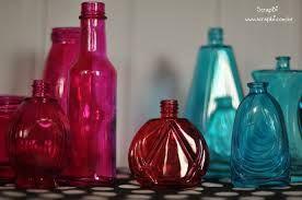 Resultado de imagem para como pintar garrafas de vidro com tinta vitral