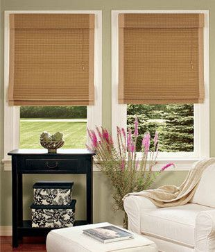 Country Curtains Bamboo Insulated Roman Shades Http Www Houzz