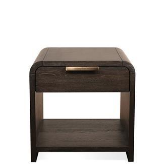 Precision Side Table I Riverside Furniture