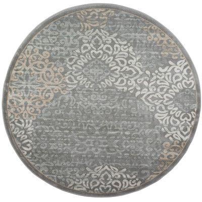 Threadbind Anderson Gray Area Rug Rug Size: