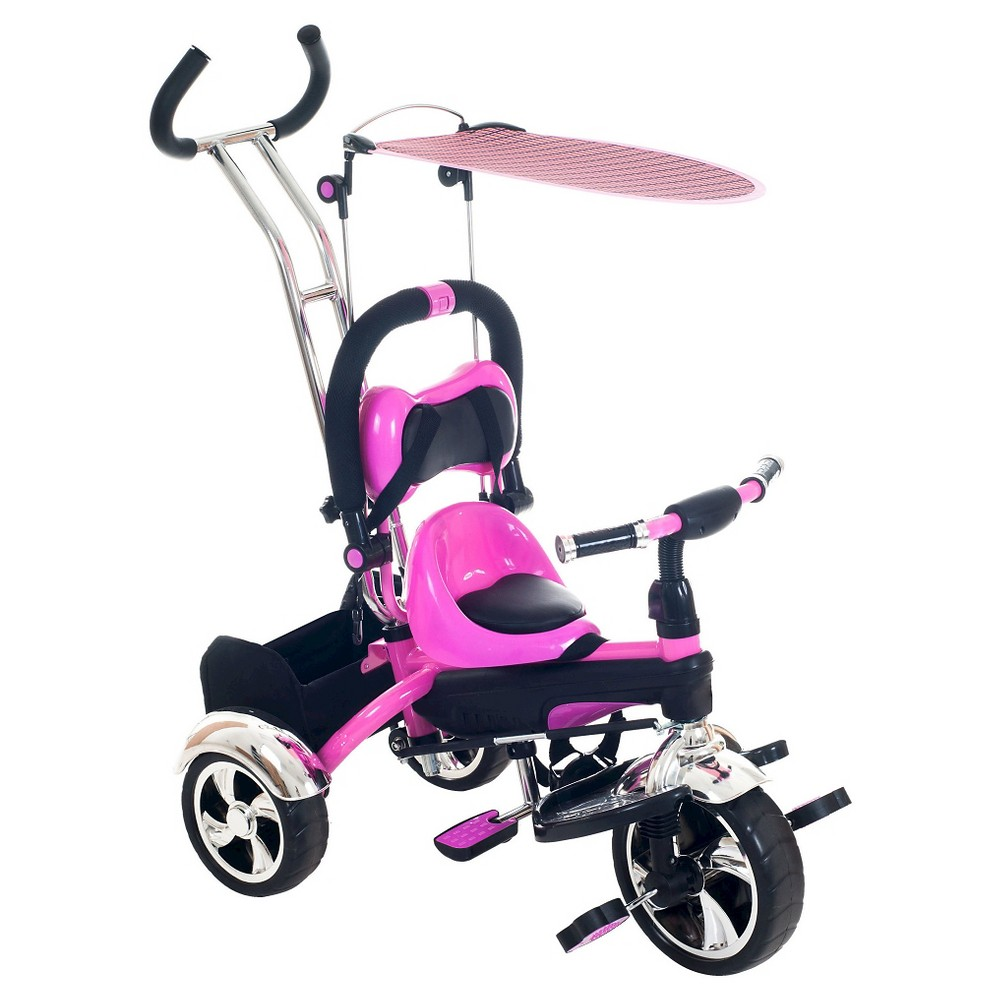 Lil' Rider 2 in 1 Stroller Tricycle Child Safe Trike