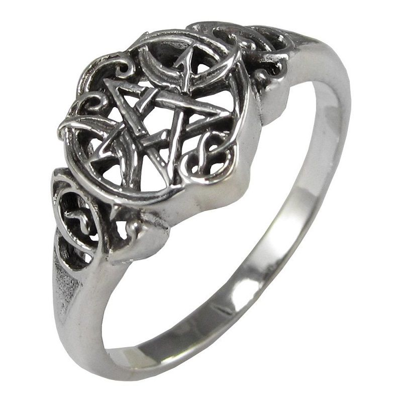 gothic and mystic wiccan wedding rings wasabifashioncultcom - Wiccan Wedding Rings