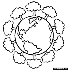 Image Result For Free Coloring Pages Earth Day