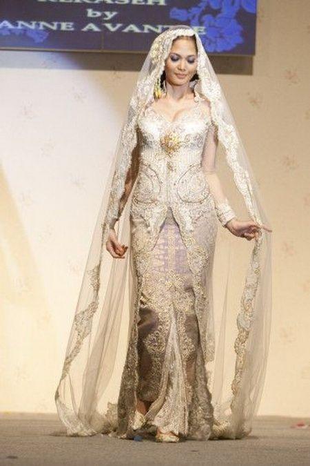 Model Kebaya Akad Nikah Anne Avantie : model, kebaya, nikah, avantie, Kebaya, Pengantin, Modifikasi, Avantie, Fashionshow, Design, Pixel, Wedding,, Indonesian, Kebaya,, Muslim