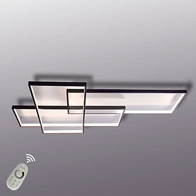 Moderne LED-Deckenleuchte bündige Montage Wandleuchte Alumilium - deckenleuchte led wohnzimmer