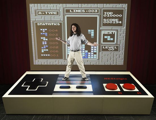 World's largest video game controller!