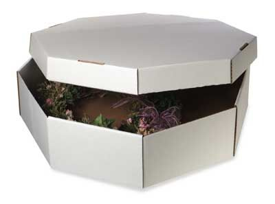 There are all types of storage containers for wreaths Here is a