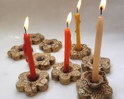 clay menorahs - Buscar con Google