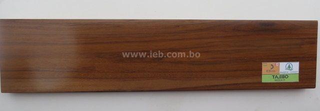 Especie: Tajibo (Tabebuia SP) Producto: Machimbre