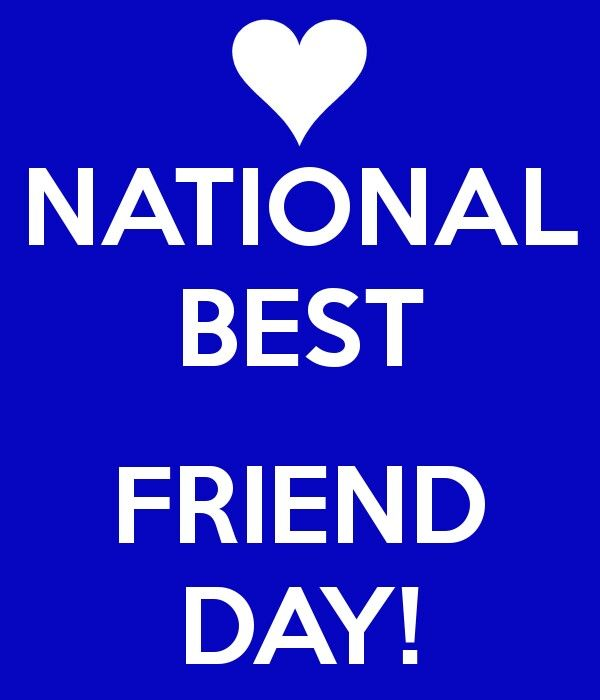 June 8 Best Friend Day National Best Friend Day Bff Day