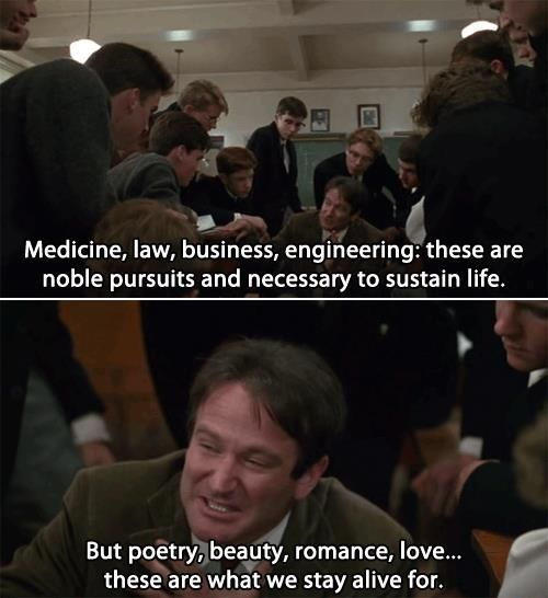 Pin By Kristyn Barilla On Moviesss Dead Poets Society Movie Quotes Dead Poets