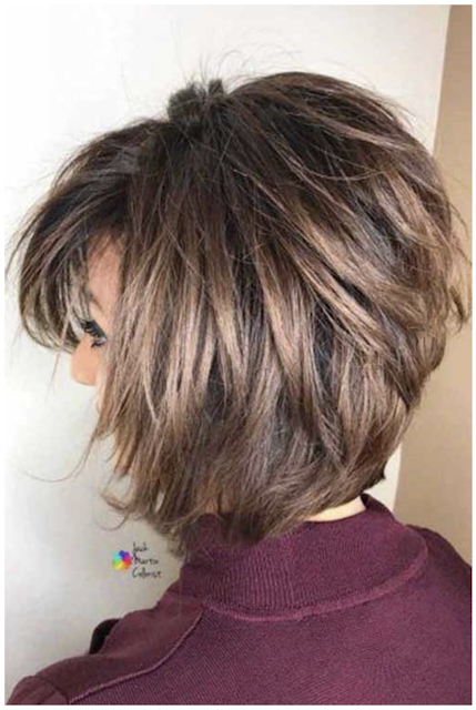 Haircuts For Women 2020 In 2020 Short Layered Haircuts Short Layered Bob Hairstyles Layered Haircuts For Women
