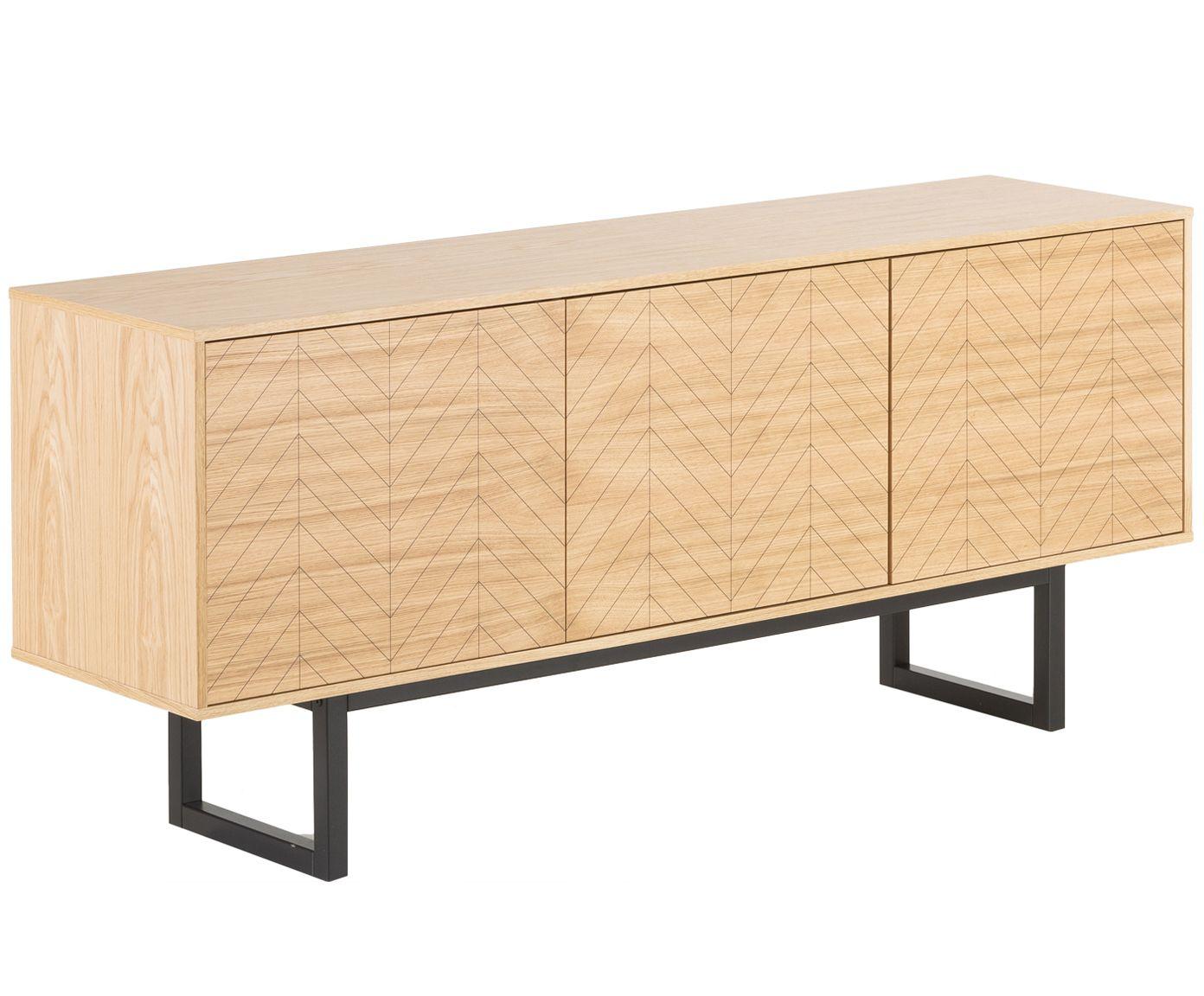 Sideboard Camden Mit Türen Und Eichenholzfurnier Westwingnow Eiche Möbel Sideboard Hochwertige Möbel