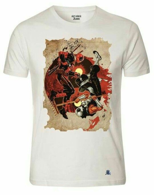 Art junkie copyright protected deadpool design available from www.art junkieshop.co.uk