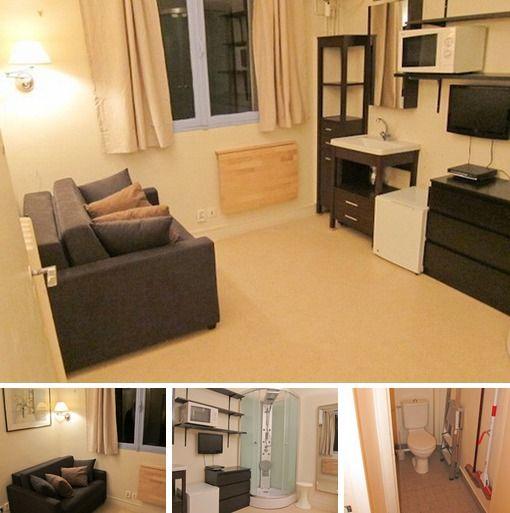 Small Cheap Studio For Rent In Paris At Avenue De Saxe | 610 U20ac/month